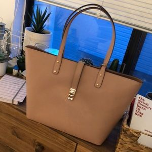 Michael Kors Karson Carryall tote in Fawn